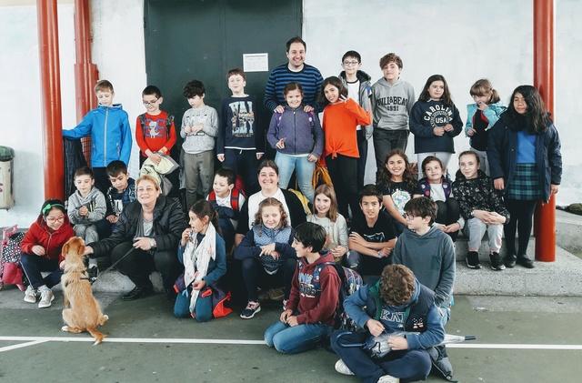 Charla alumnos de clases de comunicación del CEIP Concepción Arenal de A Coruña dia 4 de junio 20180612