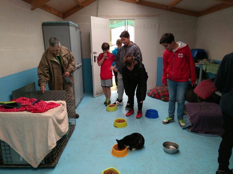 Visita alumnos IES Monte das Moas de A Coruña Foto_d10