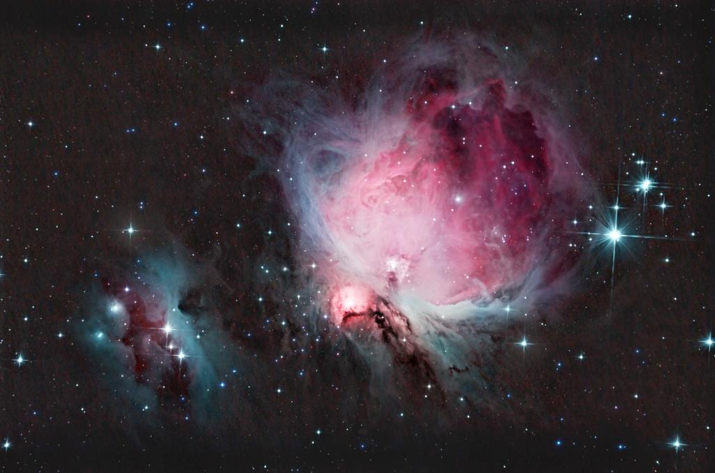 Nebulosas de Orion e Homem Correndo. Orionf11