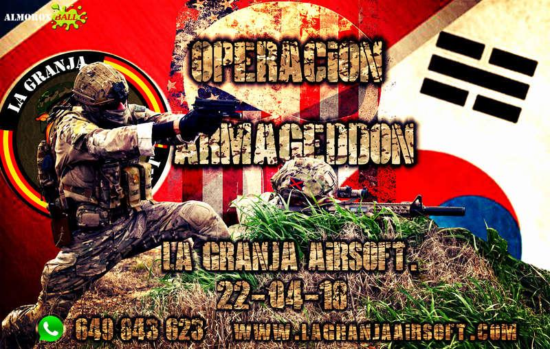 OPERACIÓN ARMAGEDDON.PARTIDA ABIERTA. 22-04-18 Armage13