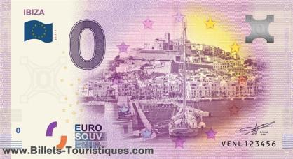 "BILLETES ""O"" (ZERO) EUROS.................(en general) Ibiza11"