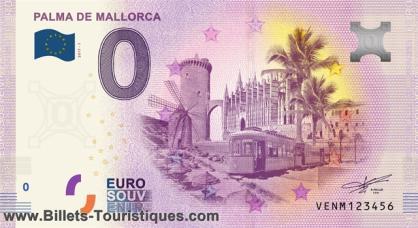 "BILLETES ""O"" (ZERO) EUROS.................(en general) Palma11"