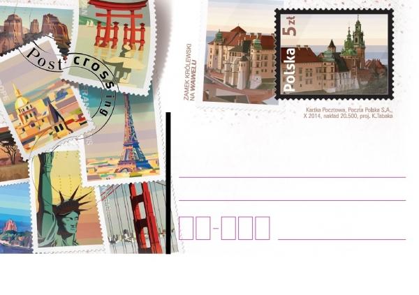MINICOLECCIÓN - Sellos dedicados a Postcrossing Poloni10
