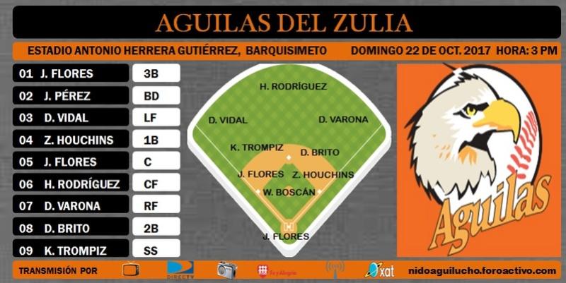 Line up Domingo, 22 de Octubre de 2017 Nidoag19