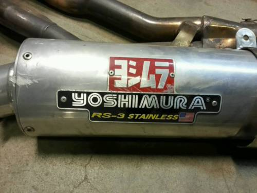 Escape Yoshimura original e replica _7210