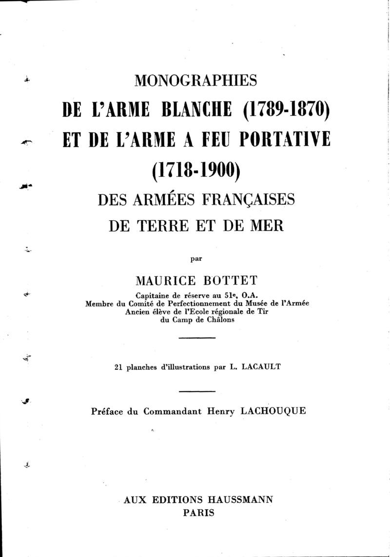 Livre sur les sabres de M. Bottet Bottet10