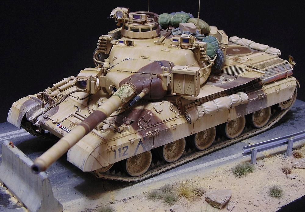 AMX 30B2 - Французский средний танк 00910