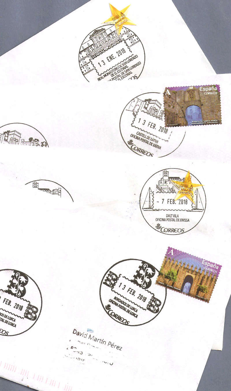 ESPAÑA - MATASELLOS TURÍSTICOS - Página 7 Lote210