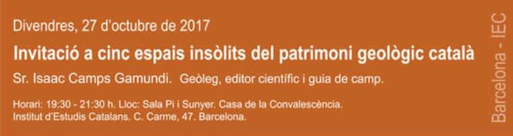 Inauguració del Cicle de Conferències Mineralógicas de Tardor  111