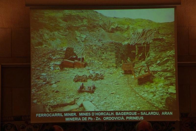 """Crònica de la conferència """"Mineria i Patrimoni miner Català Inventari i avaluació de museus i parcs geològics."""". 1113"""