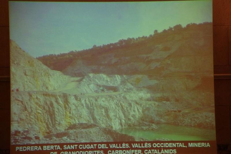 """Crònica de la conferència """"Mineria i Patrimoni miner Català Inventari i avaluació de museus i parcs geològics."""". 1212"""