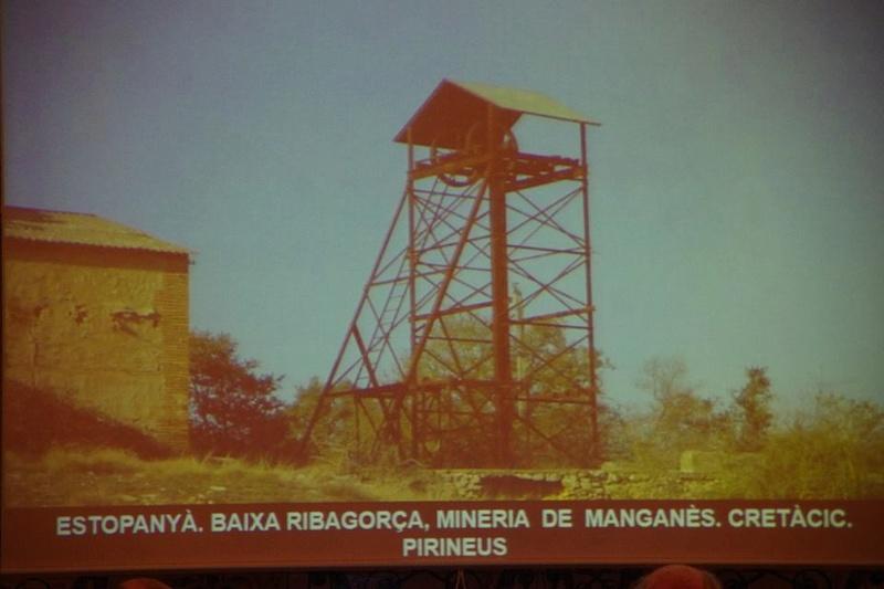 """Crònica de la conferència """"Mineria i Patrimoni miner Català Inventari i avaluació de museus i parcs geològics."""". 1512"""