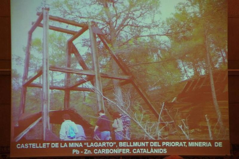 """Crònica de la conferència """"Mineria i Patrimoni miner Català Inventari i avaluació de museus i parcs geològics."""". 1610"""