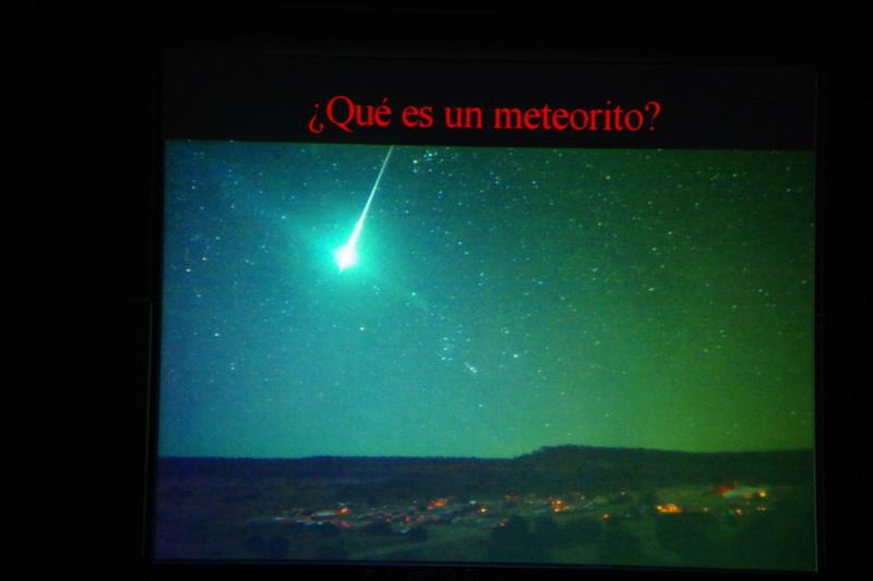 """Propera conferència divendres dia 17: """"Meteoritos. Origen, historia y composición mineralógica"""" 213"""