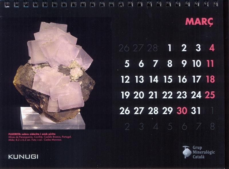 Calendari de sobretaula GMC 2018 218