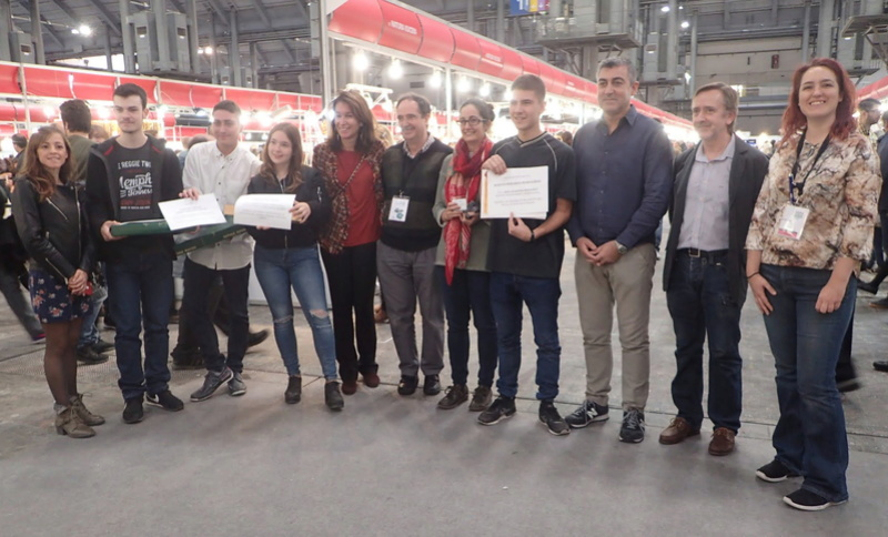 Entrega dels Premis GMC als Treballs de Recerca de Batxillerat 312