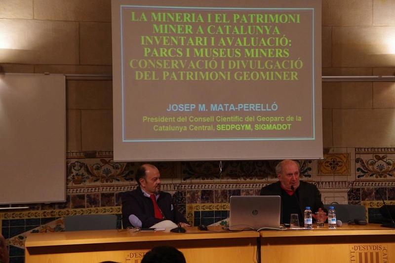 """Crònica de la conferència """"Mineria i Patrimoni miner Català Inventari i avaluació de museus i parcs geològics."""". 316"""