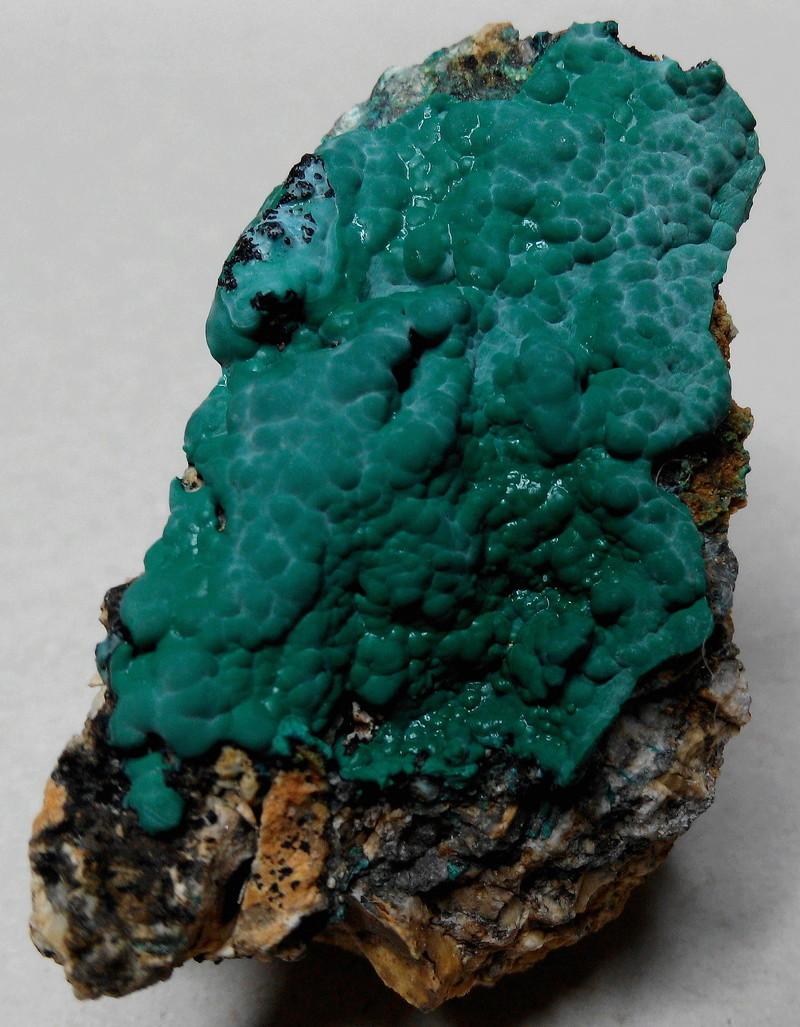 mina - Malaquites de la mina de les Ferreres, Rocabruna, Camprodon, Ripollès 4-mala10
