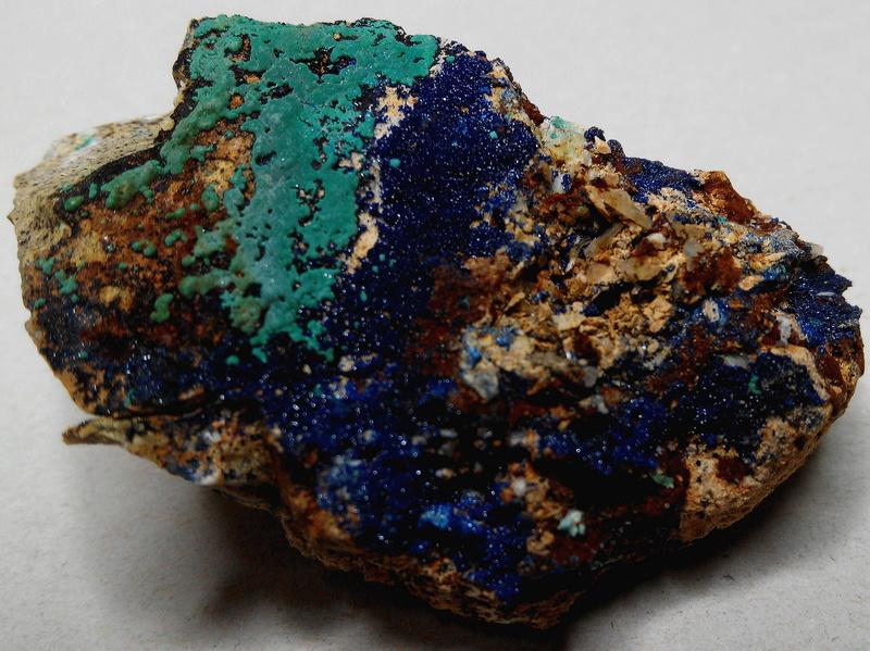 mina - Malaquites de la mina de les Ferreres, Rocabruna, Camprodon, Ripollès 7-mal-10