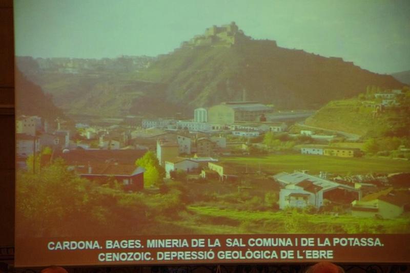"""Crònica de la conferència """"Mineria i Patrimoni miner Català Inventari i avaluació de museus i parcs geològics."""". 712"""
