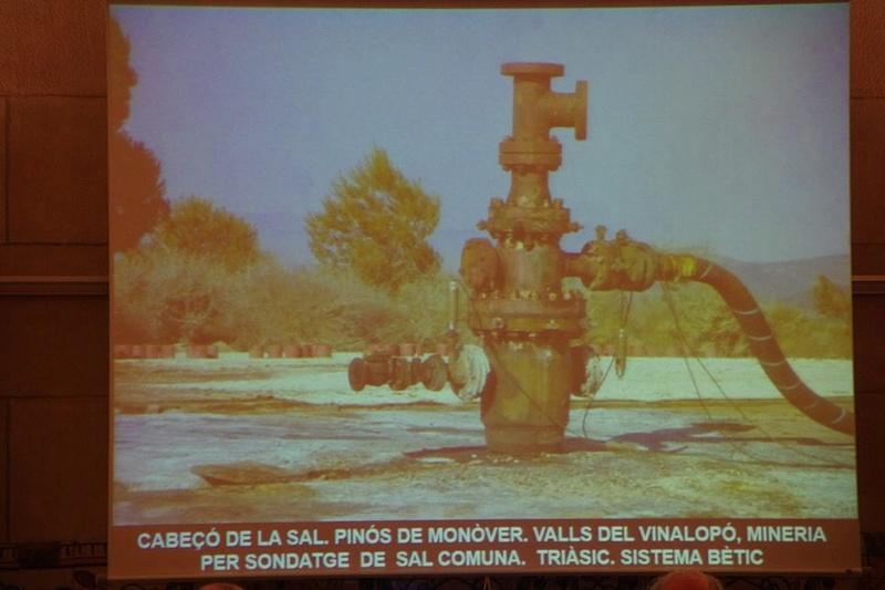 """Crònica de la conferència """"Mineria i Patrimoni miner Català Inventari i avaluació de museus i parcs geològics."""". 812"""