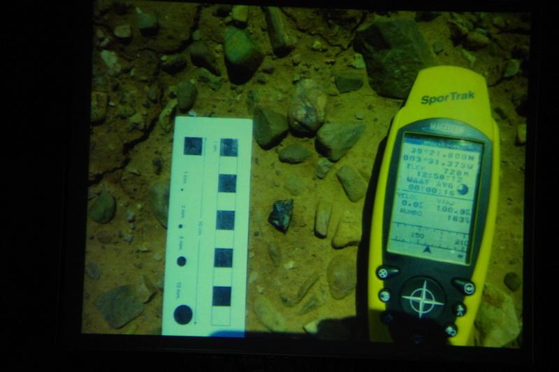 """Propera conferència divendres dia 17: """"Meteoritos. Origen, historia y composición mineralógica"""" 910"""