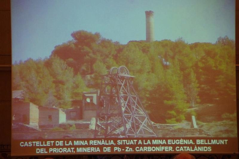 """Crònica de la conferència """"Mineria i Patrimoni miner Català Inventari i avaluació de museus i parcs geològics."""". 912"""