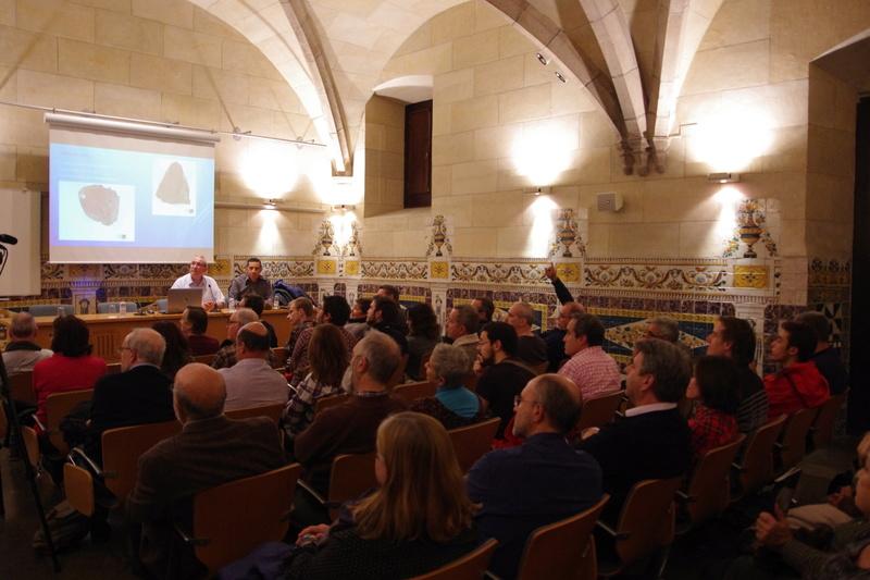"Propera conferència divendres dia 17: ""Meteoritos. Origen, historia y composición mineralógica"" 9b10"