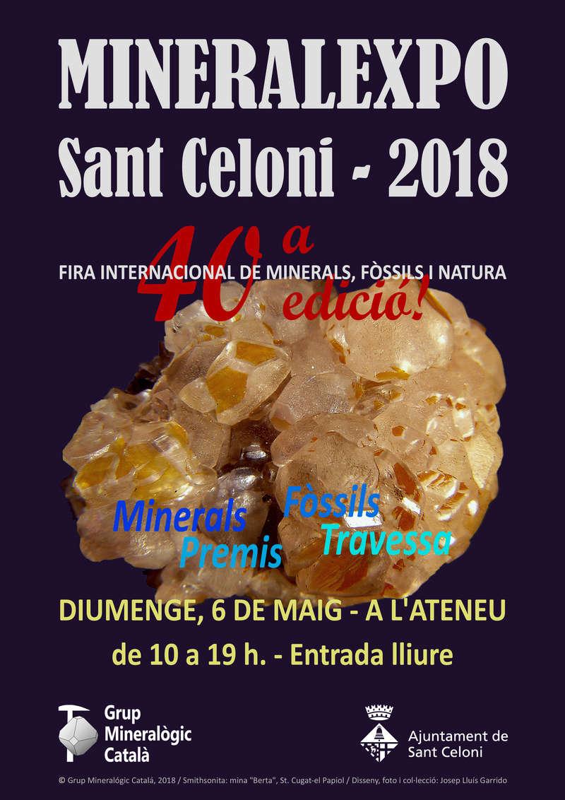 PRE-MINERALEXPO SANT CELONI 2018 Cartel10