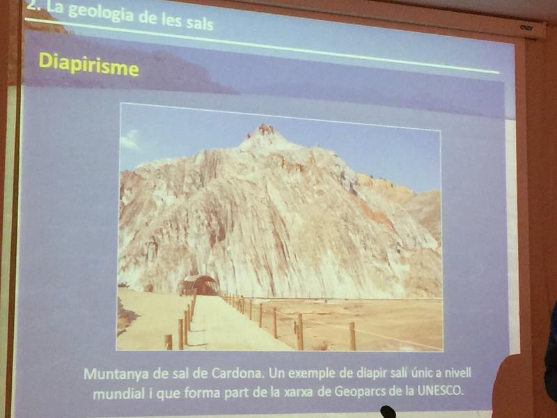 """Crònica de la conferència """"La geologia de la sal"""". Img_0014"""