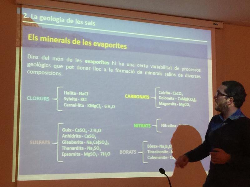"""Crònica de la conferència """"La geologia de la sal"""". Img_0016"""