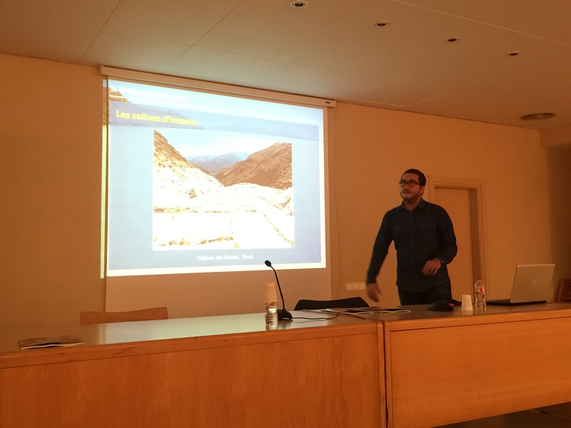 """Crònica de la conferència """"La geologia de la sal"""". Img_0019"""