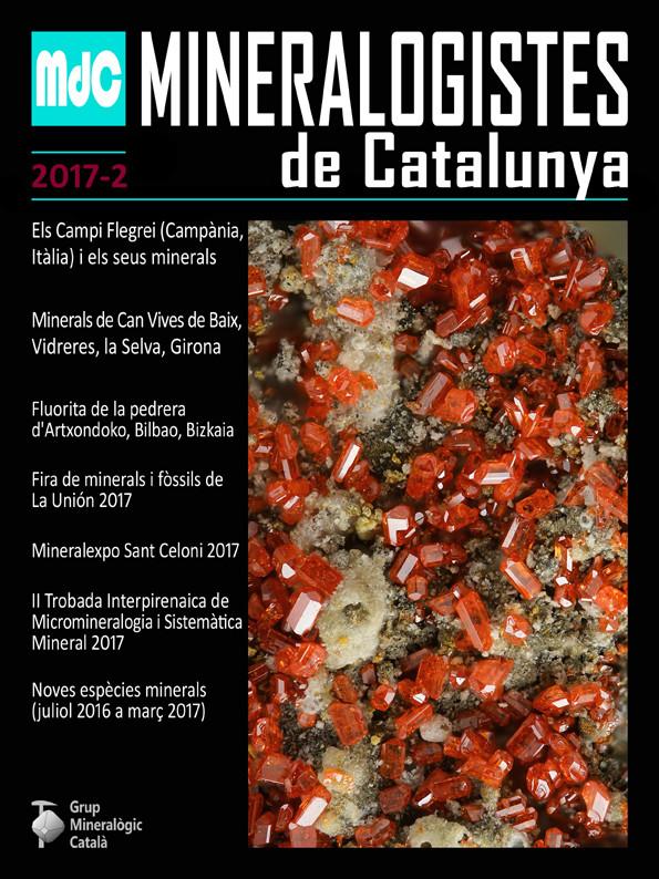 MINERALOGISTES DE CATALUNYA / PARAGÉNESIS - 2/2017 Mdc_2010