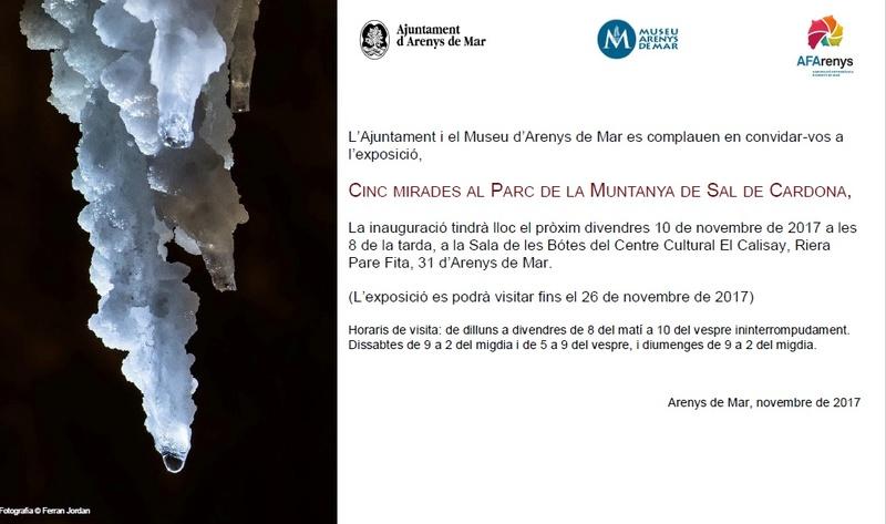 EXPOSICIÓ: CINC MIRADES AL PARC DE LA MUNTANYA DE SAL DE CARDONA Mollfu10