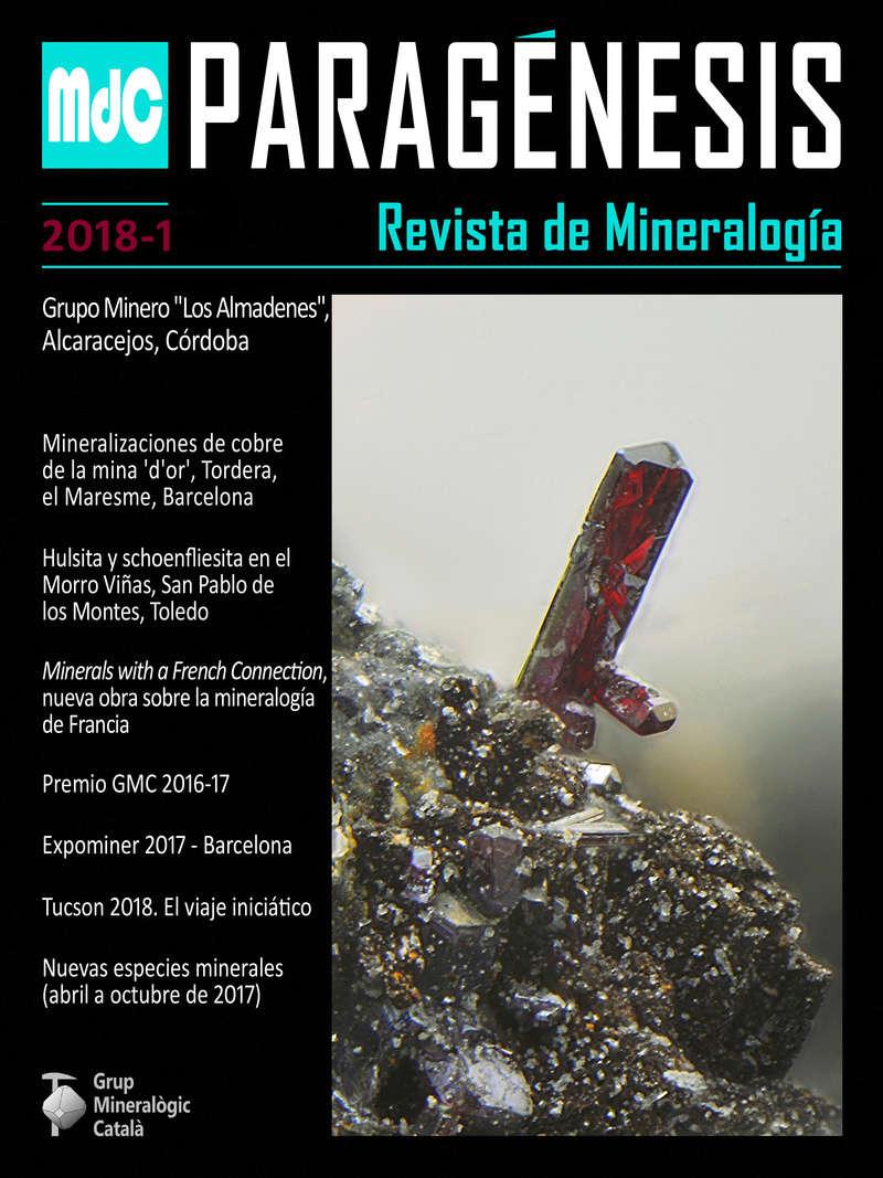 Mineralogistes de Catalunya y Paragénesis 2018 / 1 Pg_20112