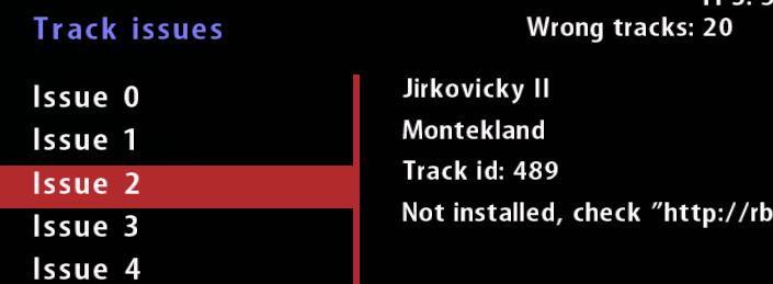 Como saber que tramos me faltan por instalar en el plugin checo? Screen22