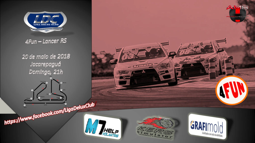 LIGA DELUX CLUB - 4Fun @Lancer Cup - Jacarepaguá 4fun24