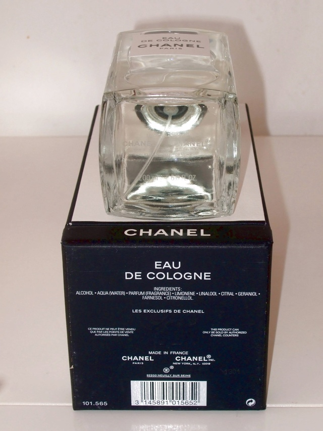 "[VENTA CERRADA] CHANEL ""LES EXCLUSIFS"" EAU DE COLOGNE 200ml Chanel11"