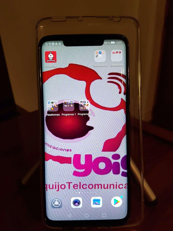 Primer contacto con el nuevo Monstruo de las Galletas: el Huawei Mate 20 Pro de QUIJOTEL 20181112