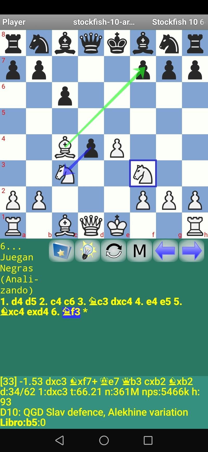30 posiciones de Test fabulosas con el Stockfish 10 / Matador de QUIJOTEL (I) Scree103