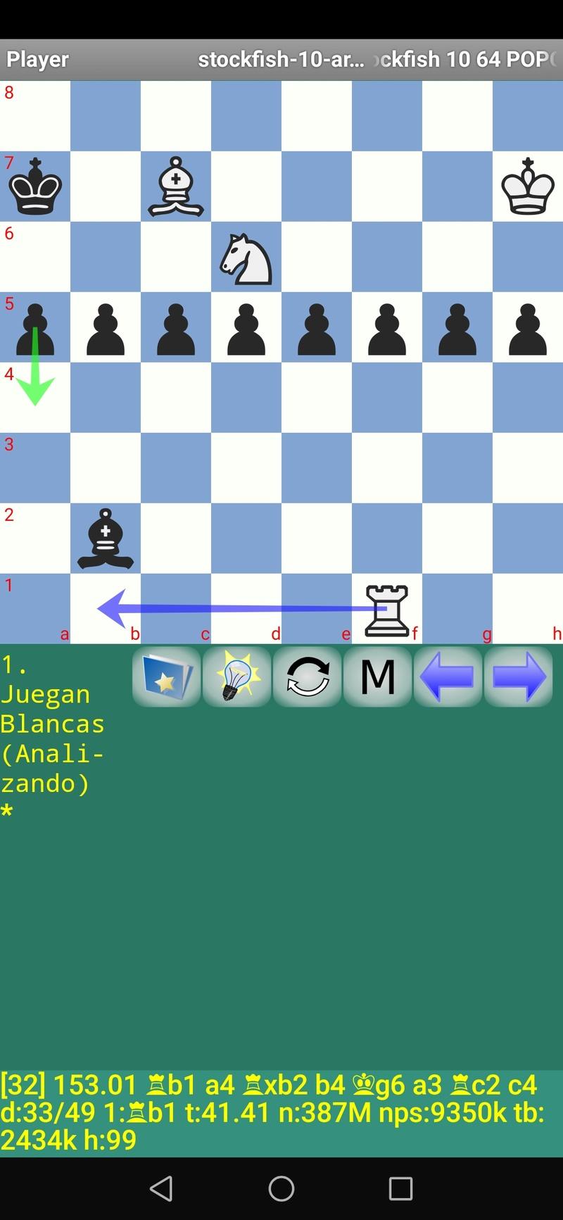 30 posiciones de Test fabulosas con el Stockfish 10 / Matador de QUIJOTEL (I) Scree105