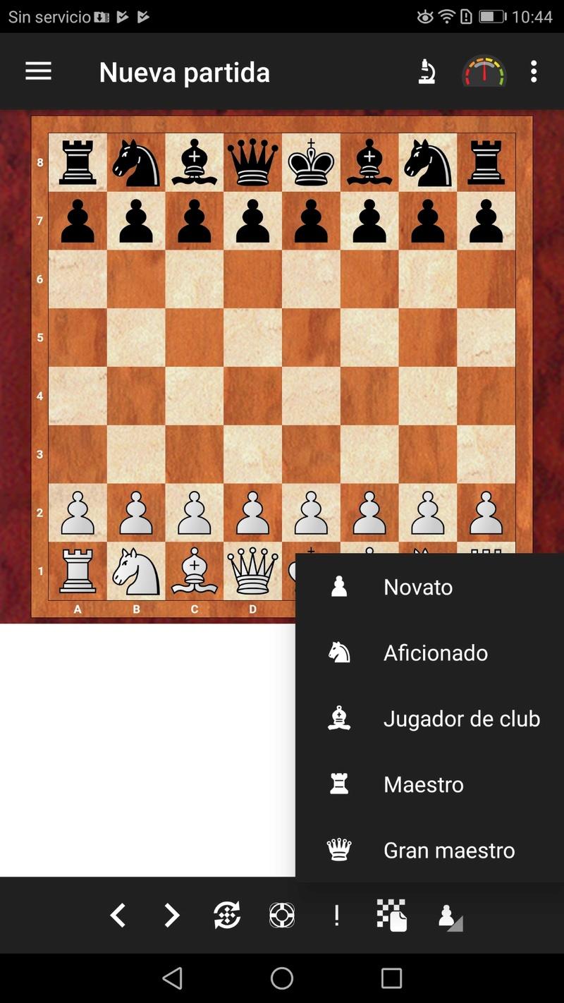¡¡¡ Fritz en Android, por fin !!! Una de las apps de ajedrez más esperadas. Screen23