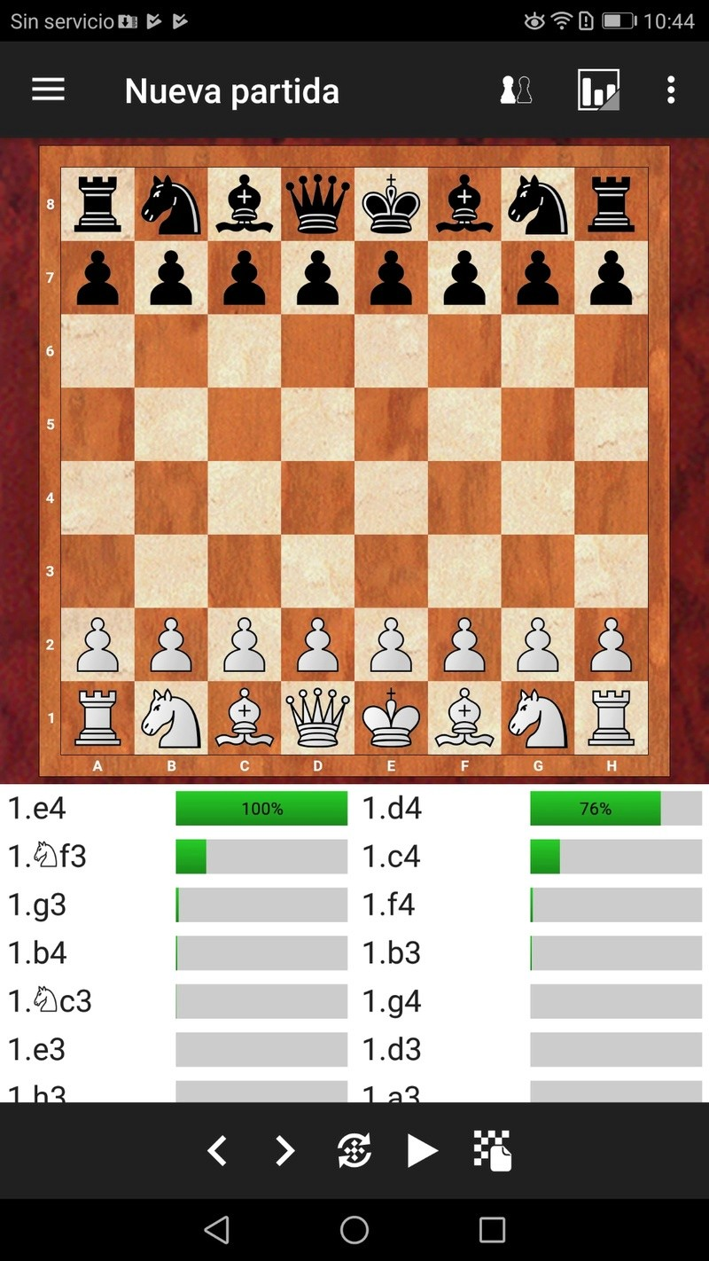 ¡¡¡ Fritz en Android, por fin !!! Una de las apps de ajedrez más esperadas. Screen24