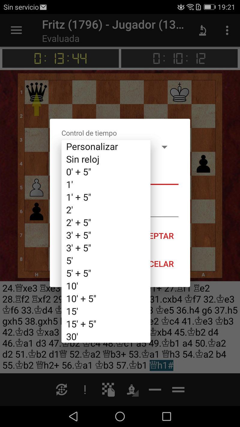 ¡¡¡ Fritz en Android, por fin !!! Una de las apps de ajedrez más esperadas. Screen29