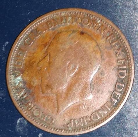 Reino Unido, 1/2 penique Jorge V, 1930 146