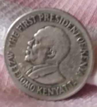 Kenia, 1 chelín de 1974 243