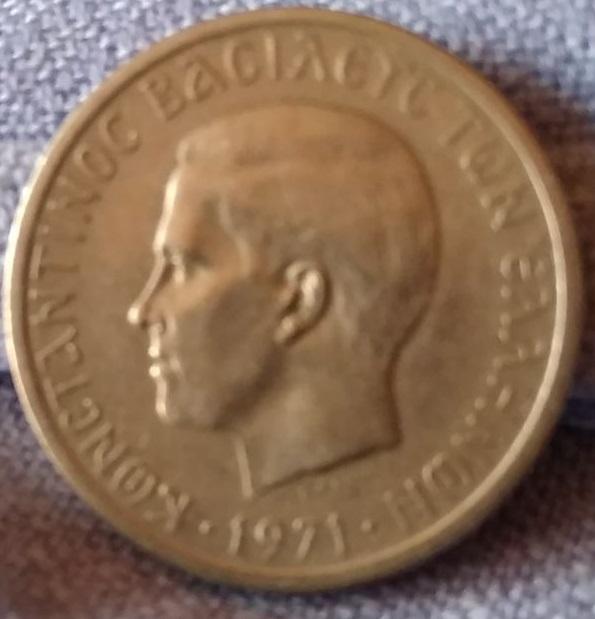 Grecia, 2 Dracmas de 1971 Img-2021