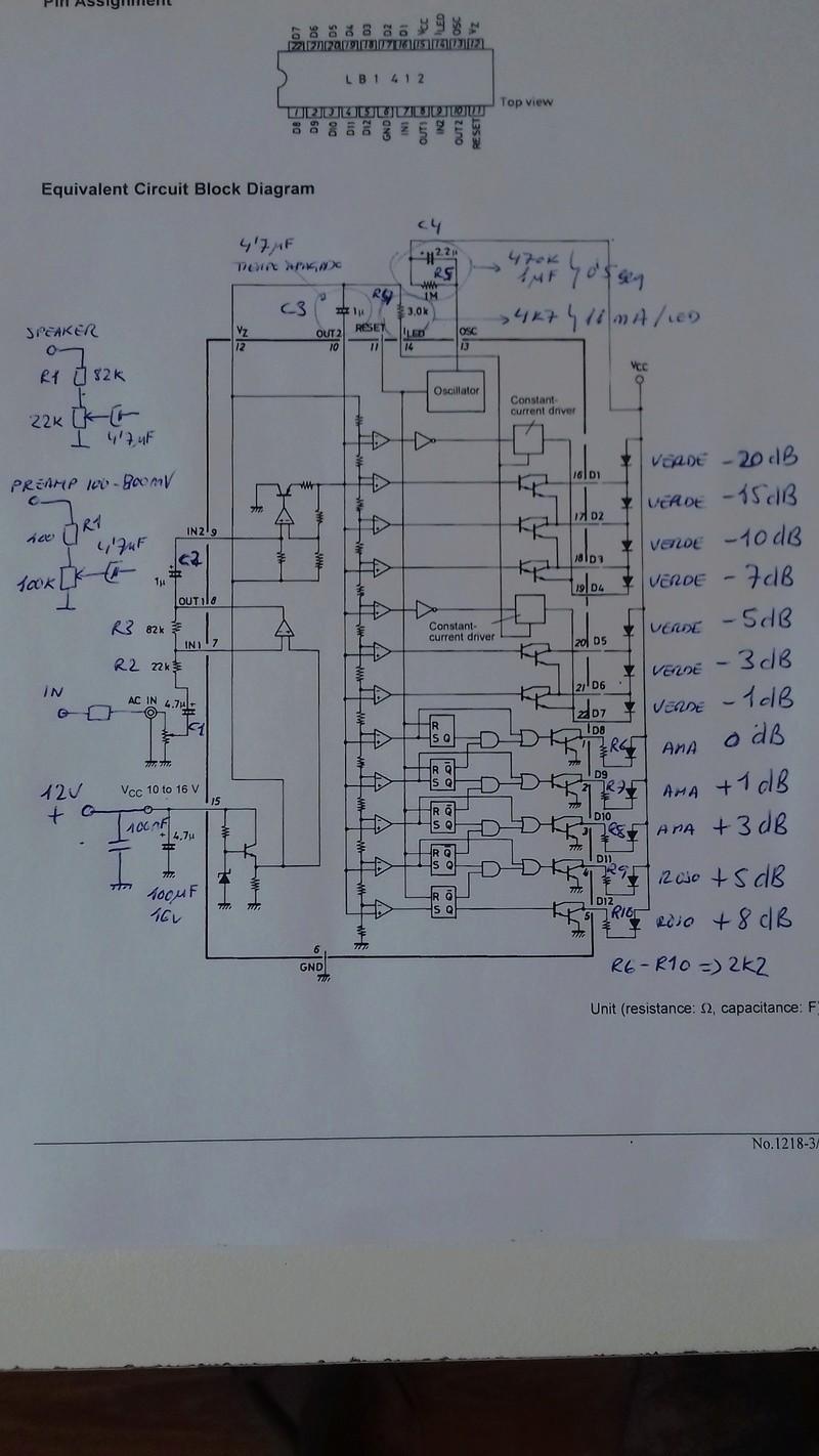 DIY/HUM Vumetro a leds con peak-hold (LB1412) 20180410