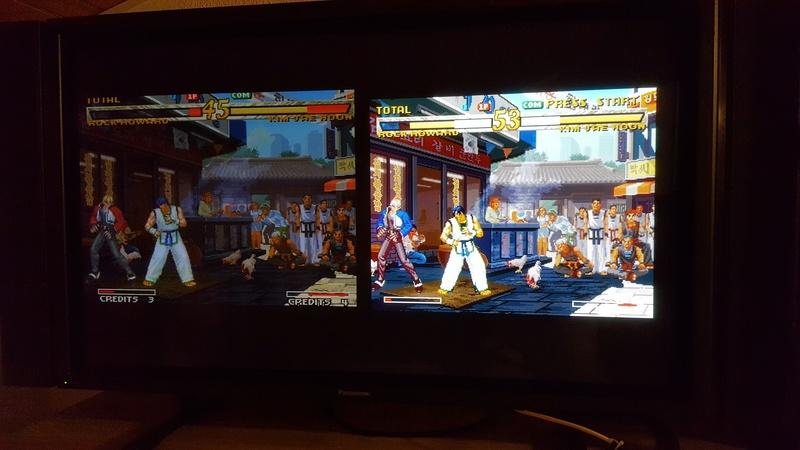 Différences entre Garou NeoGeo, DC et PS2 20171168