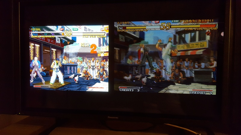 Différences entre Garou NeoGeo, DC et PS2 20171169